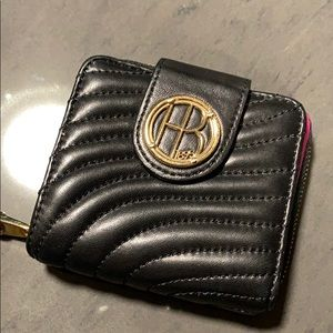 Classic Henri Bendel Small Wallet with Iconic Logo